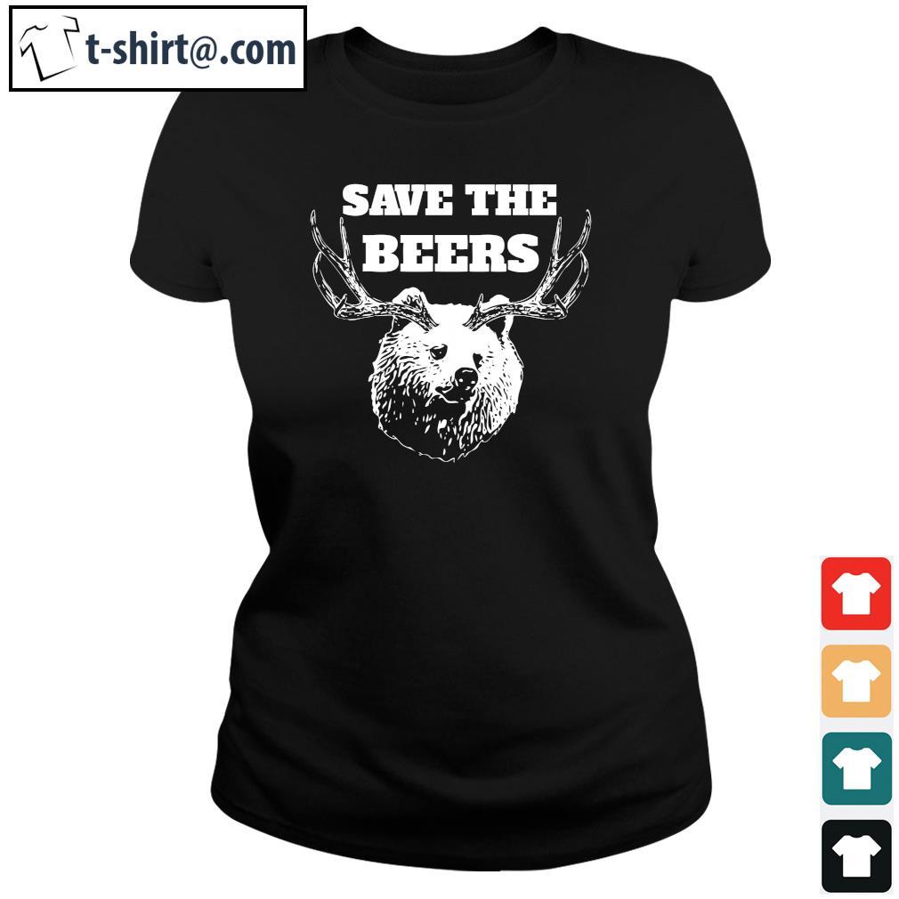 Save the beers s ladies-tee