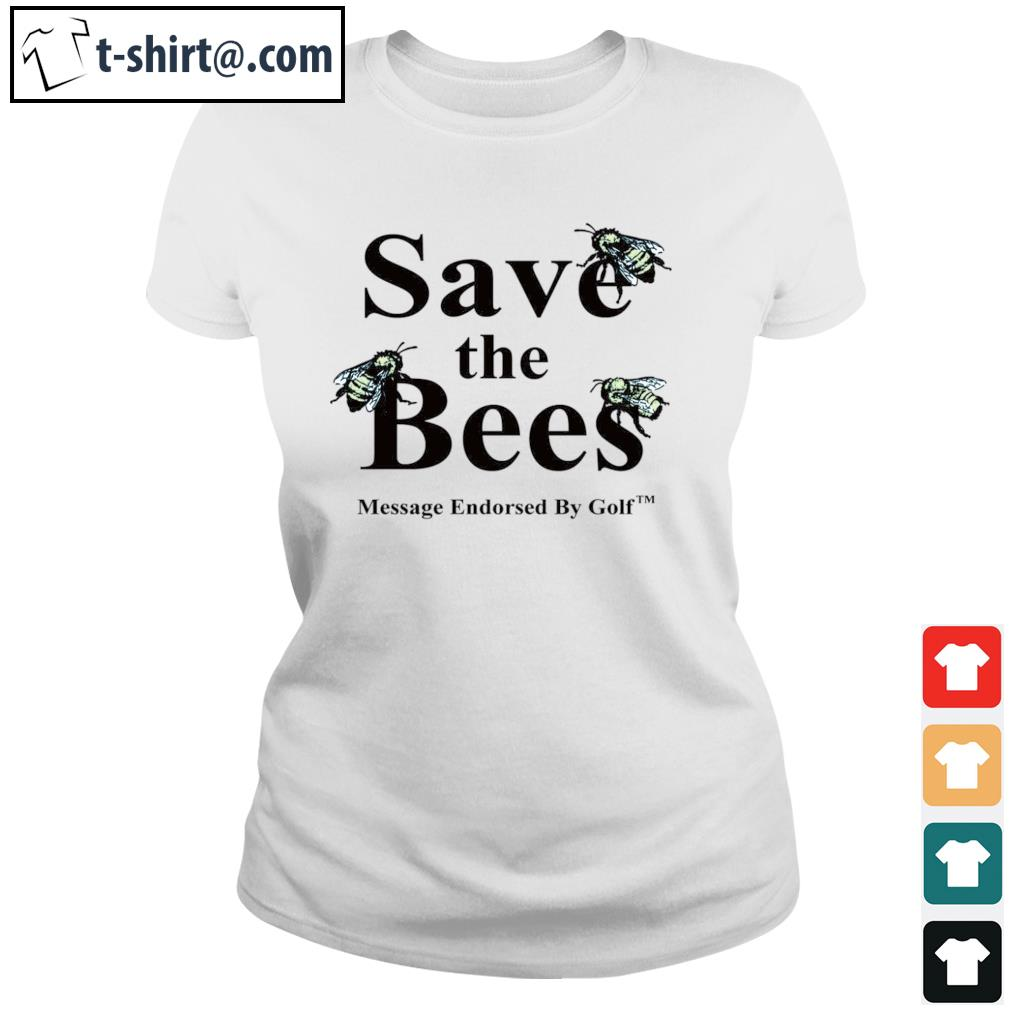 Save the Bees s ladies-tee