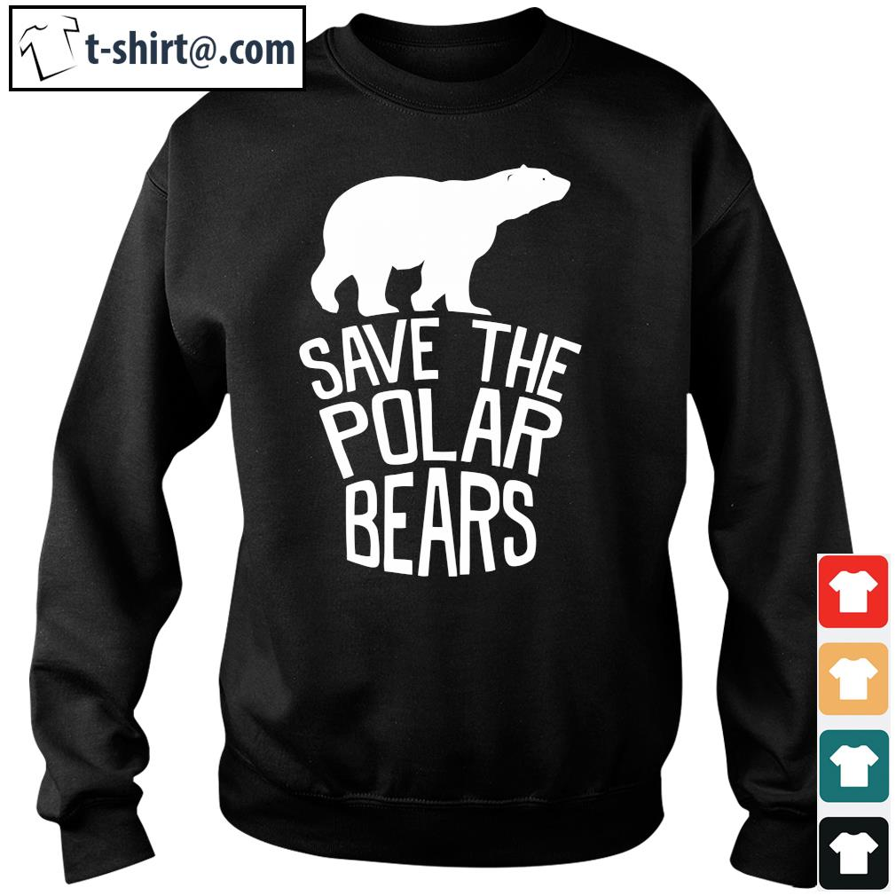 Save the polar bears s sweater